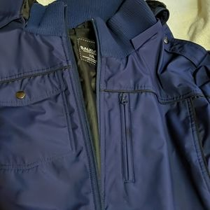 Men's Baubax Blue Coat XXL Travel Pockets!
